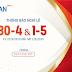 Doan Nguyen Net trân trọng thông báo lịch nghỉ lễ 30/4 - 1/5