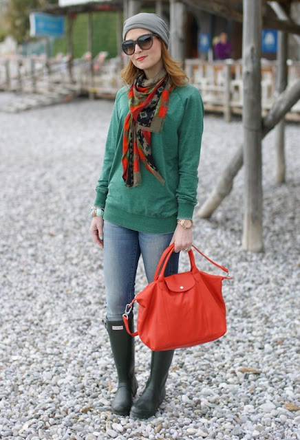 botas de lluvia de invierno
