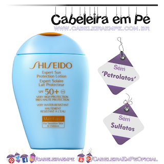 Expert Sun Protection Lotion S - Shiseido (Sem Sulfatos, Sem Petrolatos)