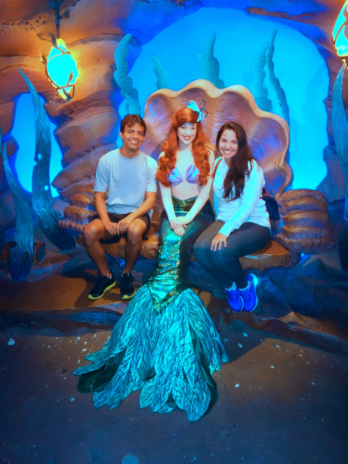 sereia - magic kingdom - orlando, eua