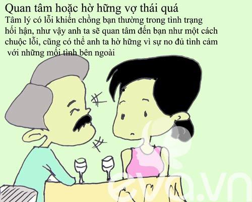 Dấu hiệu nhận biết chồng đi ngoại tình