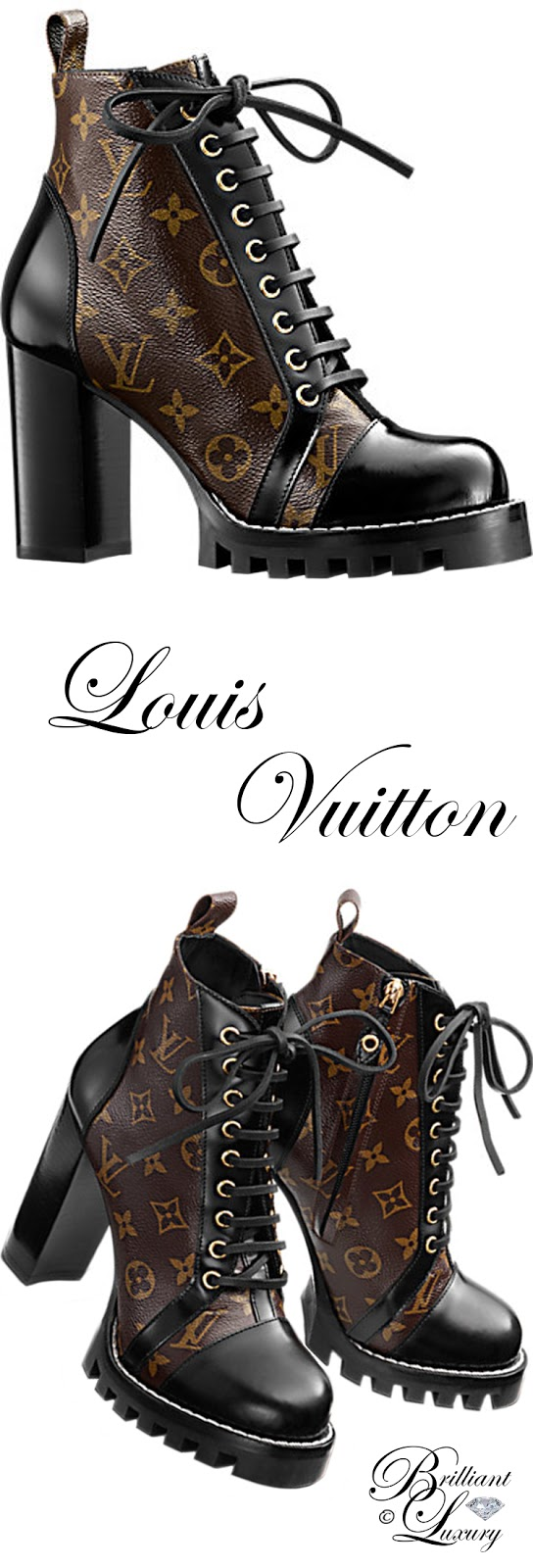 Brilliant Luxury ♦ Louis Vuitton Star Trail Ankle Boot