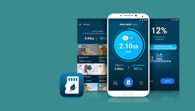 Gom Saver app