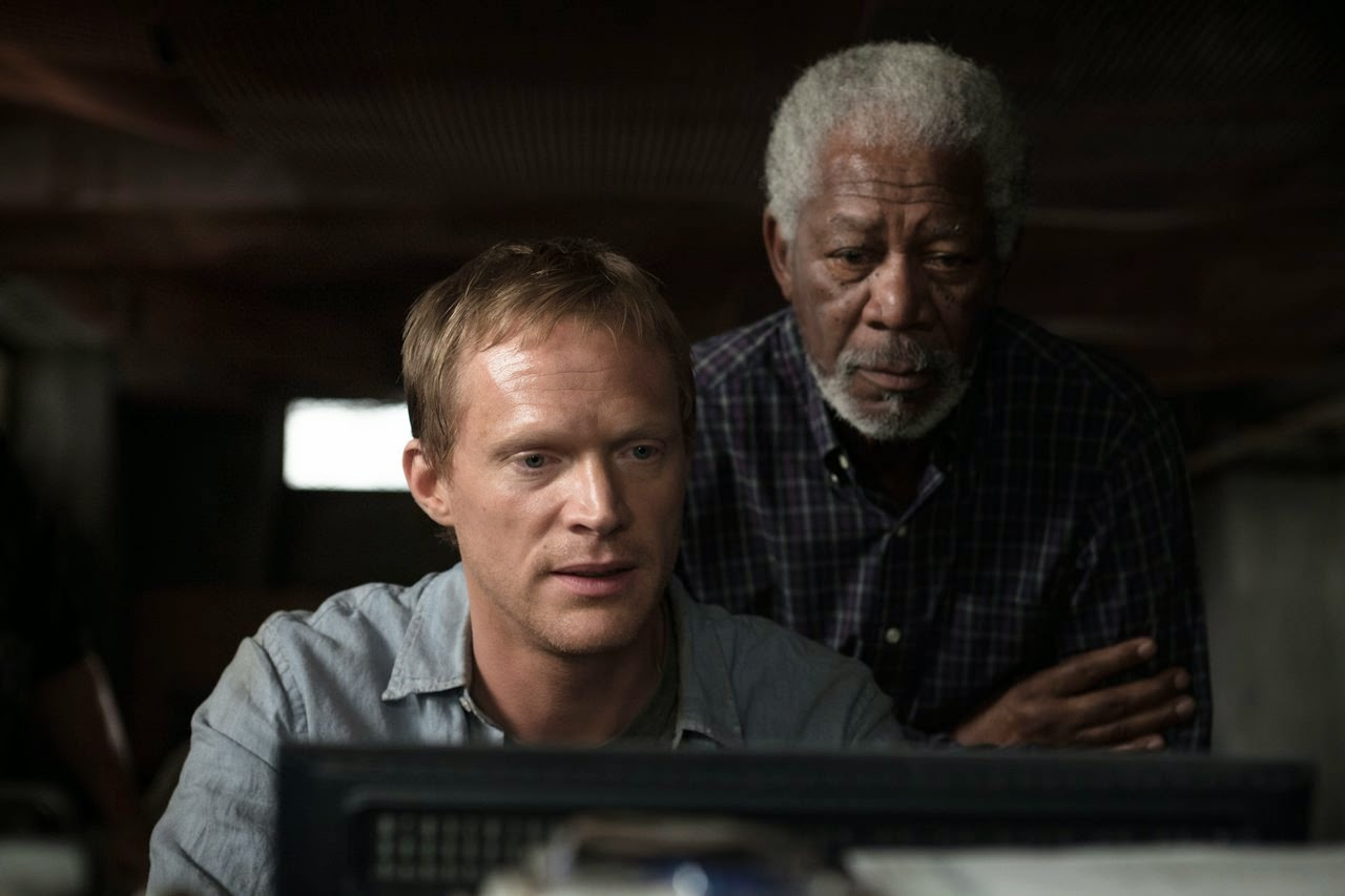 transcendence paul bettany morgan freeman