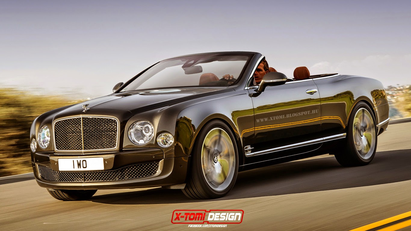 x tomi design bentley mulsanne speed convertible. Black Bedroom Furniture Sets. Home Design Ideas