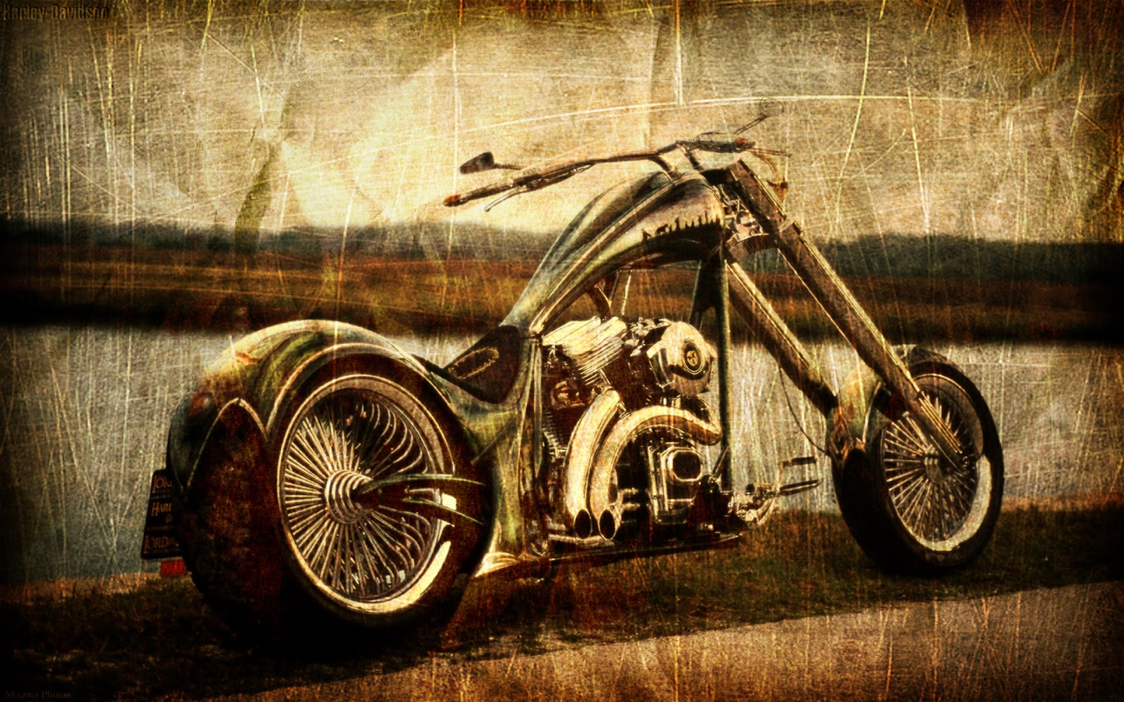 Girl Photography Wallpaper Vintage Chopper Wallpaper Best Hd Wallpapers
