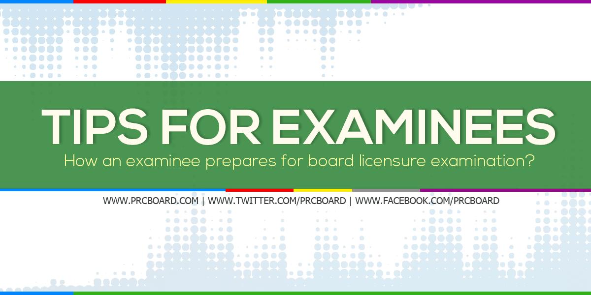 How an Examinee Prepares for Board Exam? - PRCBoard com