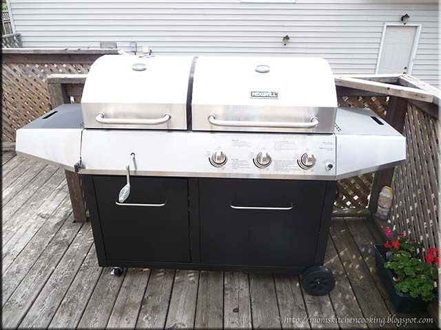 Mom S Cafe Home Cooking Our New Outdoor Charcoal Gas Combo Grill