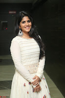 Megha Akash in beautiful White Anarkali Dress at Pre release function of Movie LIE ~ Celebrities Galleries 020.JPG