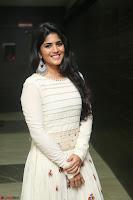 Megha Akash in beautiful White Anarkali Dress at Pre release function of Movie LIE ~ Celebrities Galleries 020.JPG