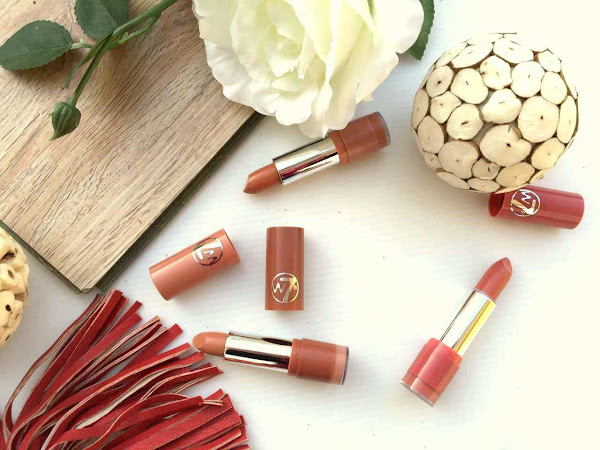 W7 'The Nudes' lipsticks