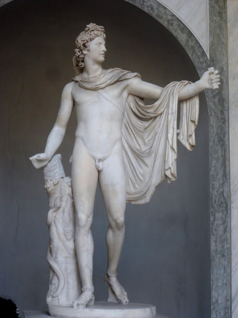 Apollo Belvedere statue in the Vatican City State | Rome, Italy