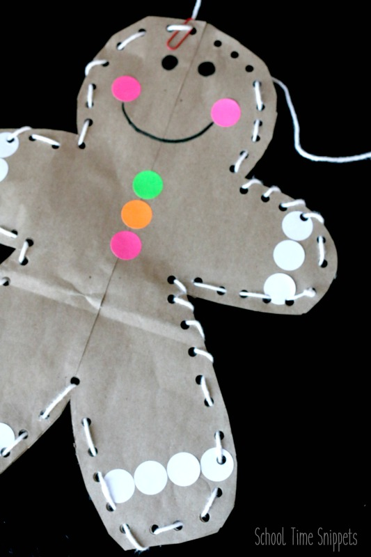 stuffed gingerbread man