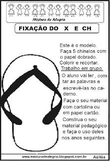 Atividade de fixação do X e CH