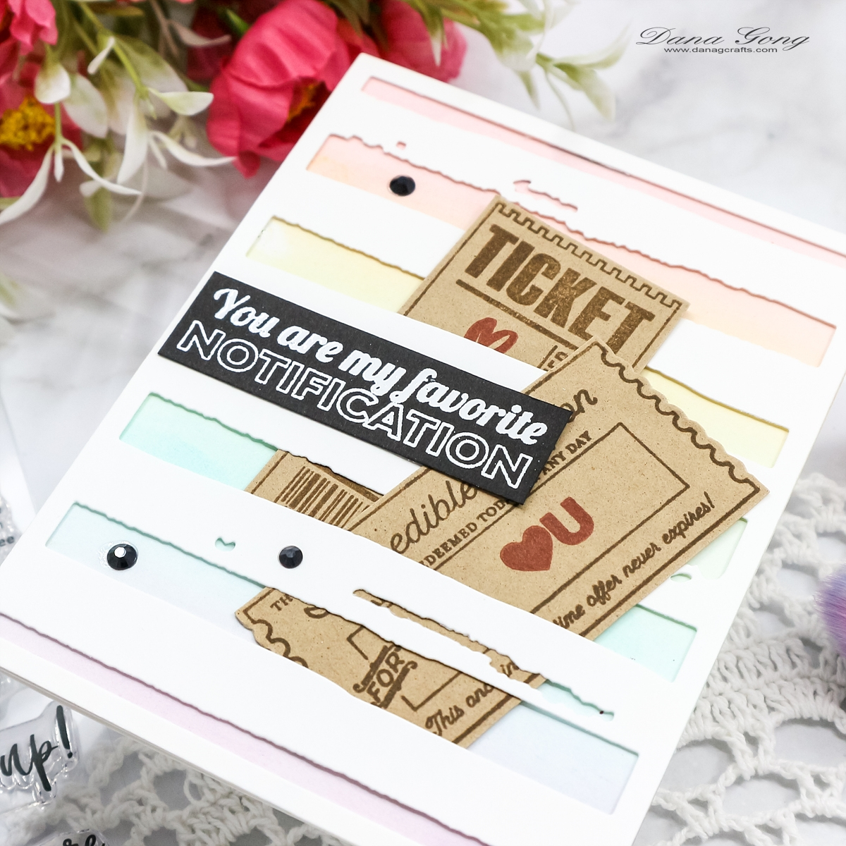 You And Me Quotes And Sayings Designer Stamp Set Scrabookcom