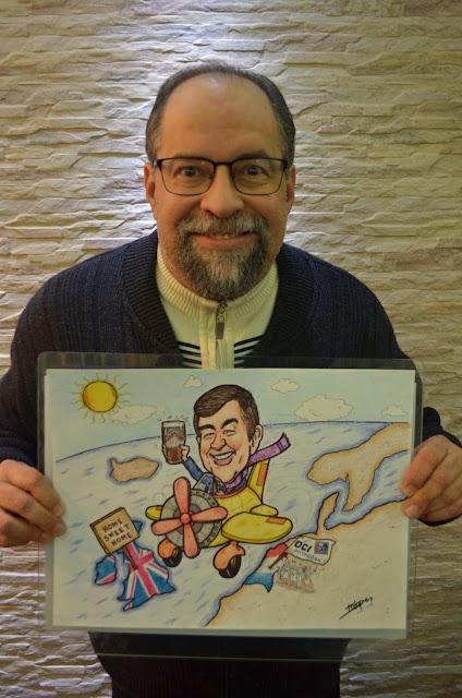 John vai se aposentar e ganhar uma arte criada pelo Desenhista Marcelo Lopes de Lopes