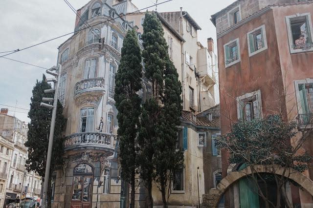 Trompe l oeil Montpellier Sauniere