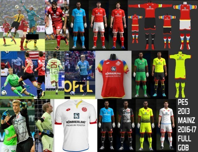 Mainz Kit 2016-2017 PES 2013