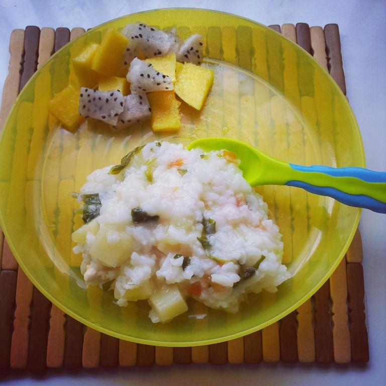 resepi bubur ayam mudah rungon Resepi Nasi Ayam Tanpa Madu Enak dan Mudah