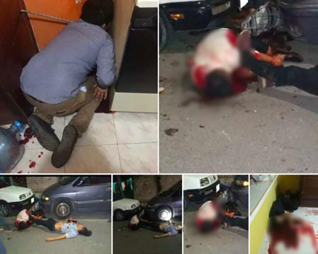 Sicarios revientan fiesta y ejecutan a 7 en Cancún con ráfagas de AK-K47 y 9MM
