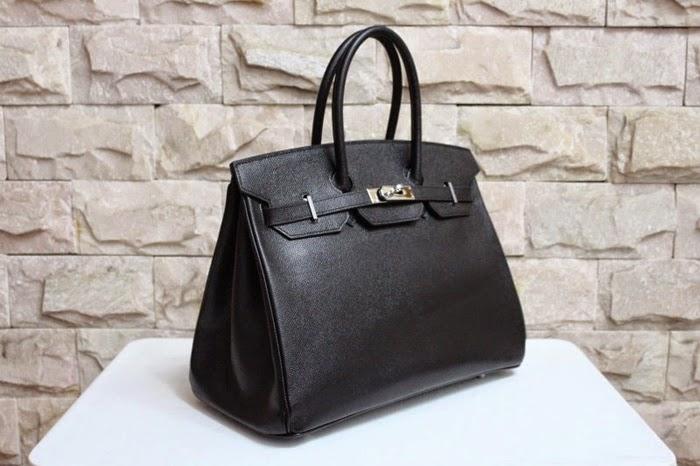 Hermes Black Epsom Leather Birkin Bag