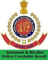 Andaman & Nicobar Police Constable Result