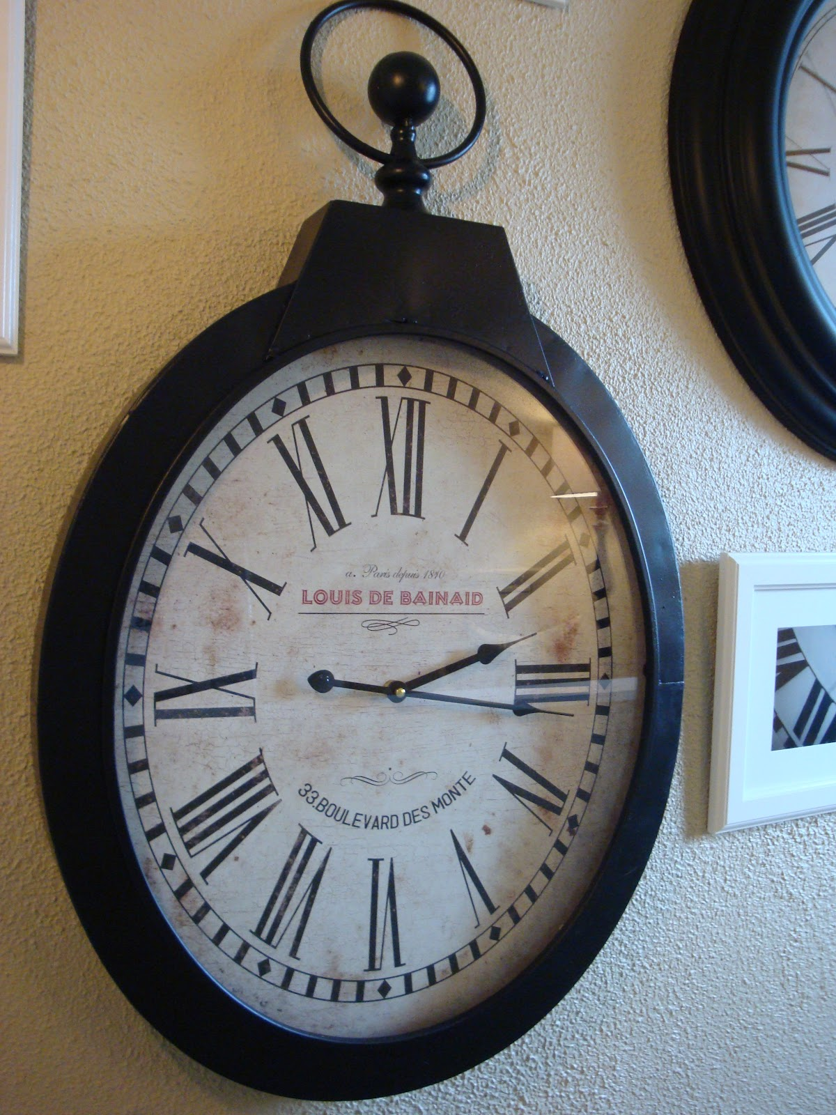 Ashley S Nest Potterybarn Inspired Clock Wall