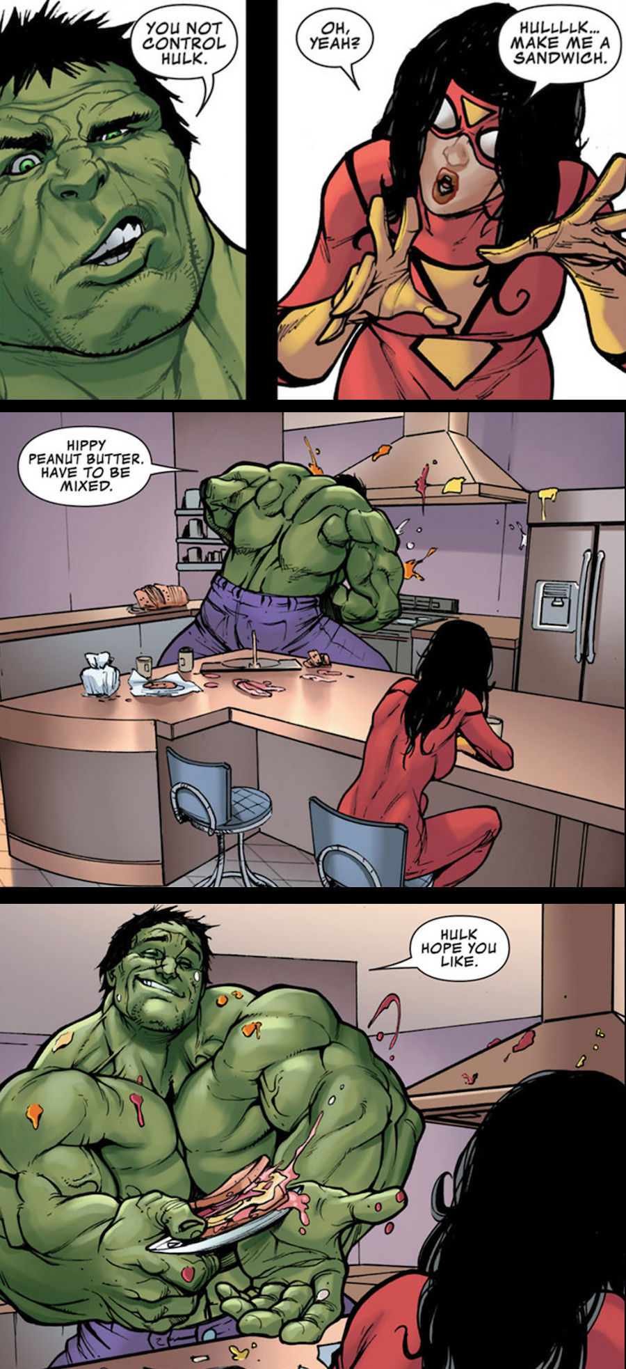 You not control Hulk