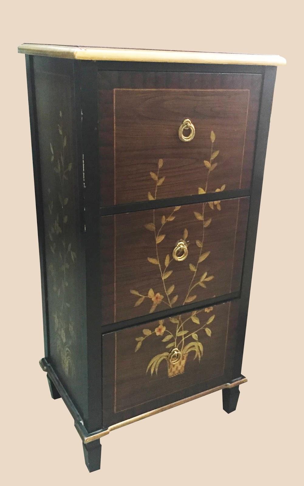 Uhuru Furniture Amp Collectibles Decorative 3 Drawer File