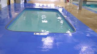 Greatmats Life Floor Super Grip Ripple Tiles Unity School Wisconsin indoor pool