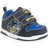DC Comics Batman Toddler Boys' Skate Sneaker Light Up Velcro Size 10