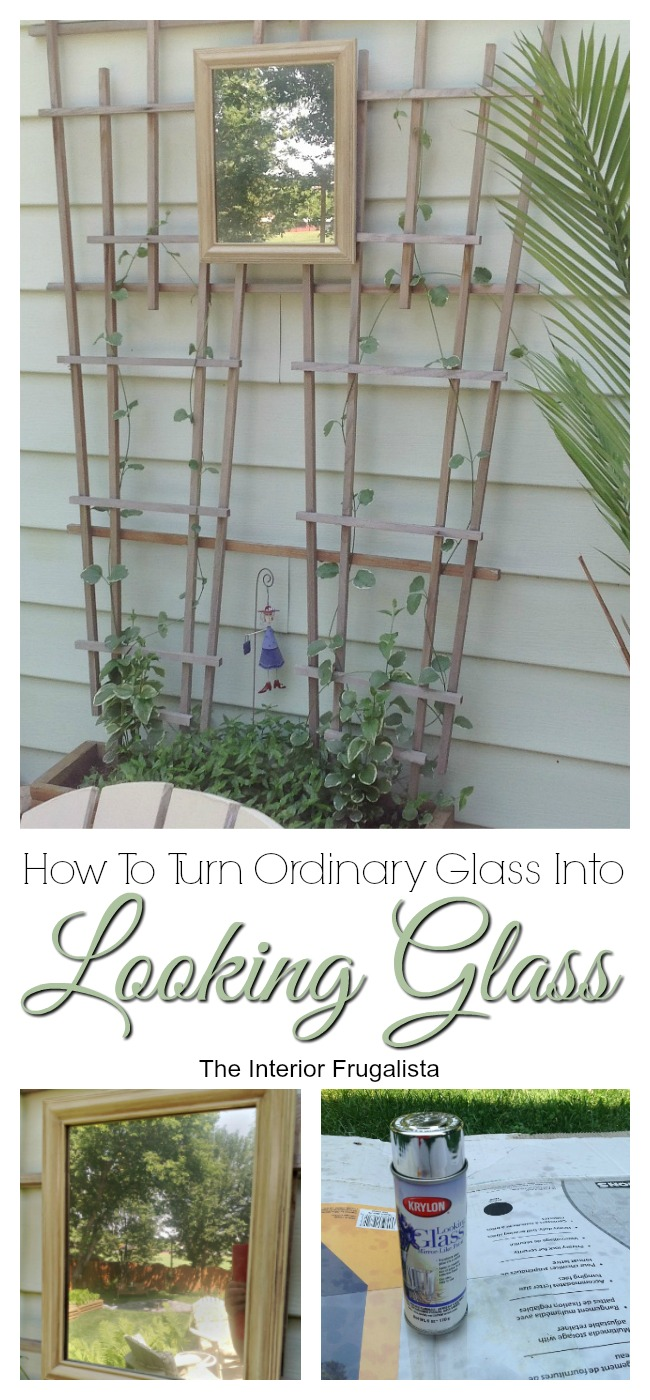 How To Turn Ordinary Glass Into A Looking Glass Mirror