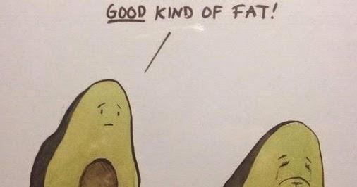 Good Fat Avocado Cartoon Fail Silly Bunt
