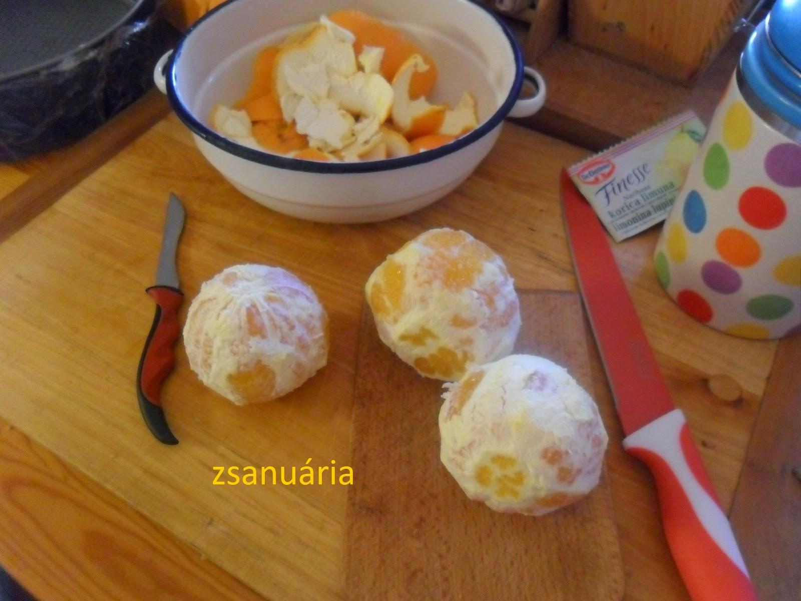 dc7a237927 Zsanuária: Narancstorta... tejfölkrémes gyümölcsös...