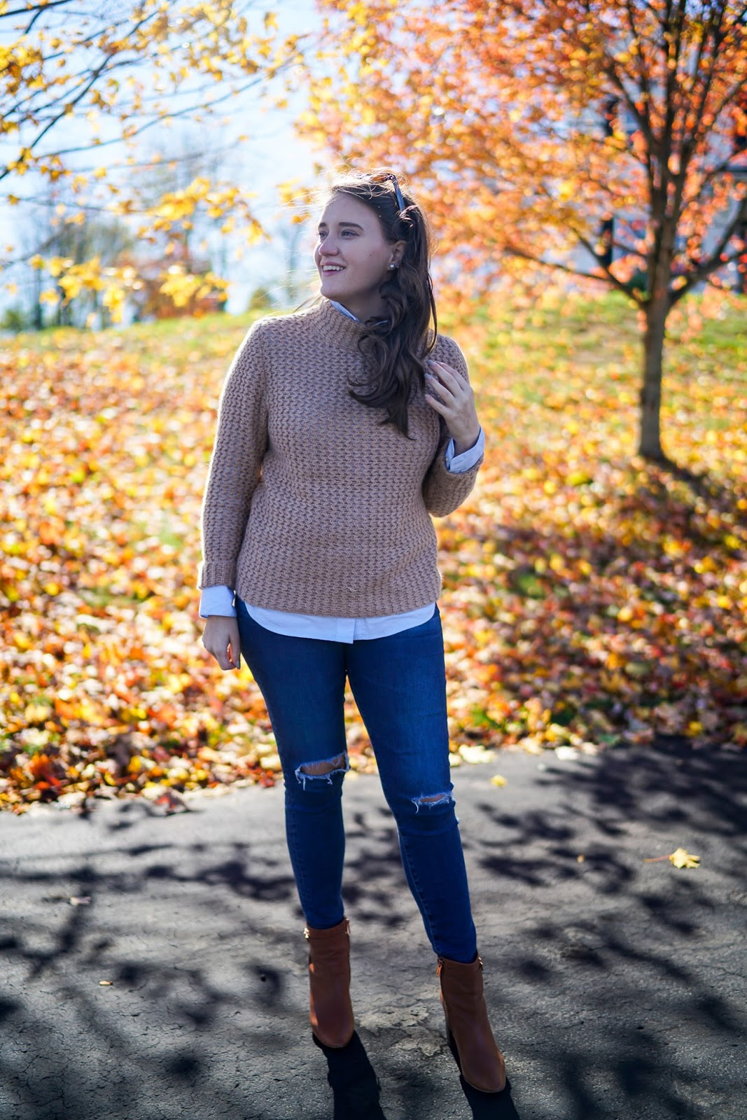 fashion blogger, New England Fall