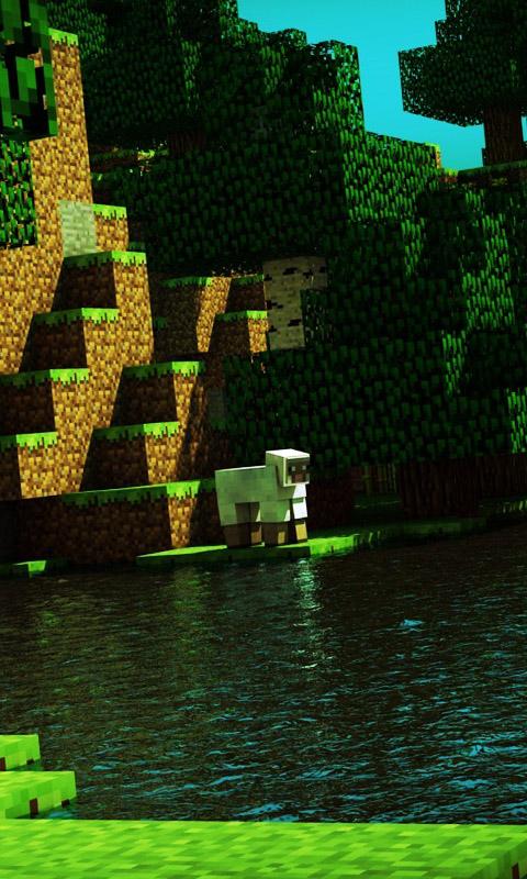 En la edición bedrock de minecraft, es posible teñir el agua de un caldero al usar el tinte sobre él. Pack de fondos para Whatsapp de Minecraft