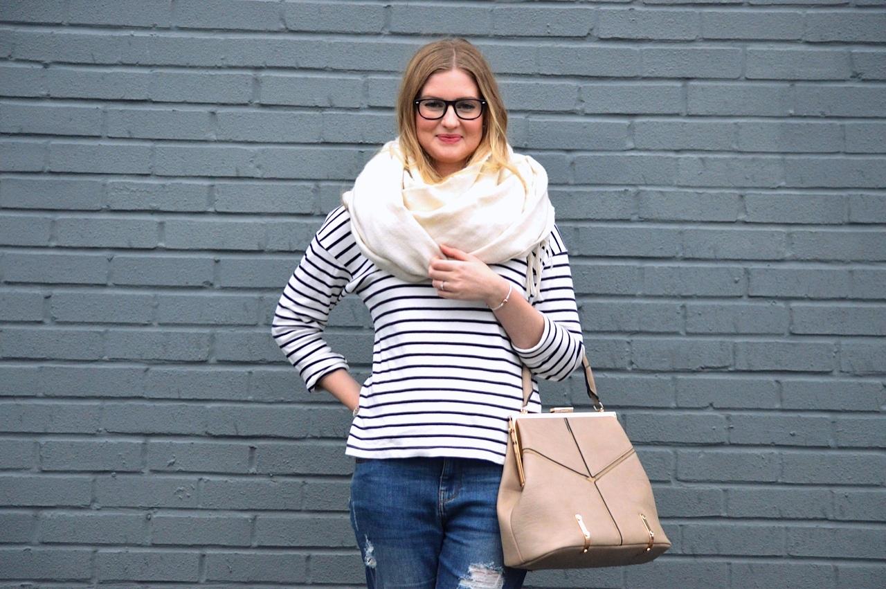 How to wear boyfriend style jeans, fashion bloggers, street style