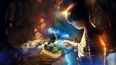 Papel de parede grátis fantasia em hd para celular, tablet, iphone, notebook e pc: Livro de contos.