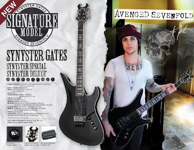 Ratias Sadipta Happy Birthday Synyster Gates