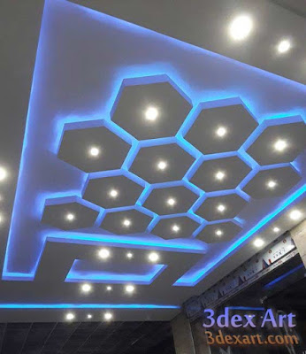 modern false ceiling designs for living room 2019 with lighting ideas, ceiling designs 2019