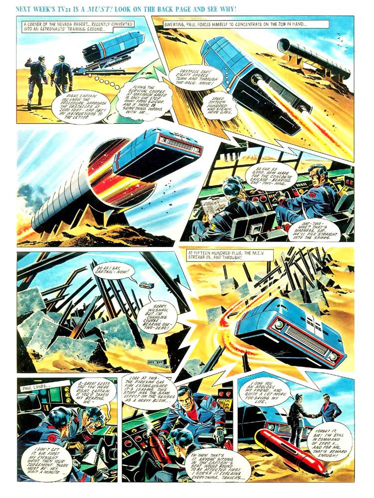 Mike noble comic strip zero x