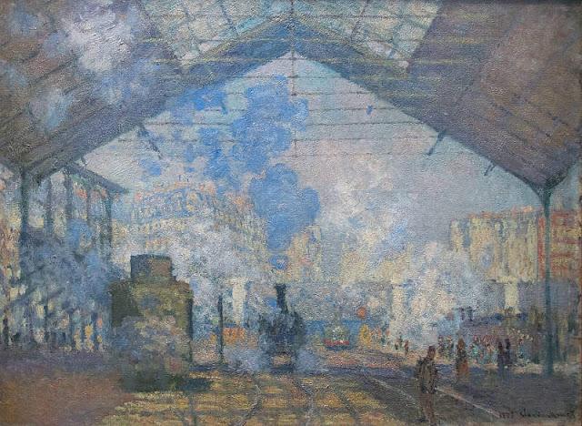 Monet et la Gare Saint Lazare 1%2BLa%2Bgare%2BSaint%2BLazare%2BClaude%2BMonet%2B1877