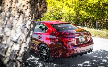 Wallpaper: Infiniti Q50 HOT car