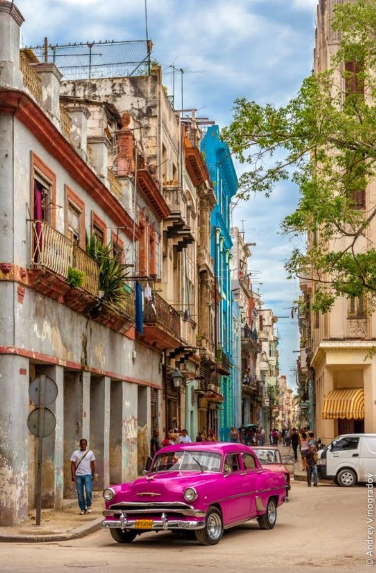 Old town Havana, Cuba 10 Most Beautiful Island Countries in the World