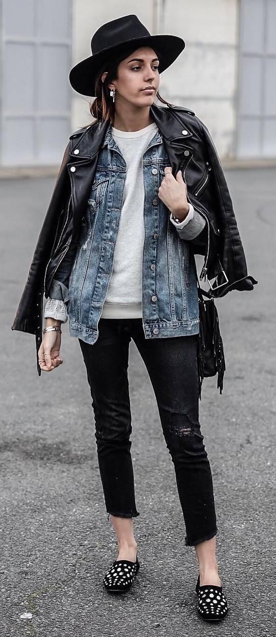cute grange style outfit idea