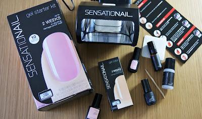 SensatioNail Pink Chiffon Starter Kit Gift Pack