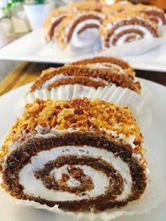 Recette du gâteau roulé