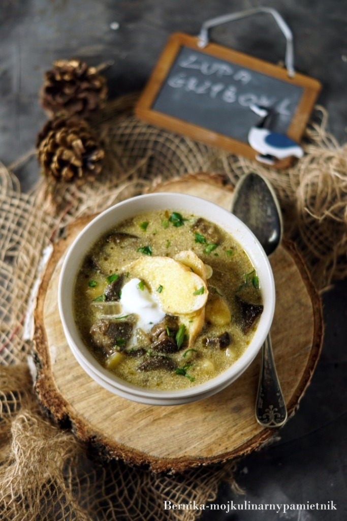Zupa Grzybowa Z Ziemniakami Bernika Moj Kulinarny Pamietnik