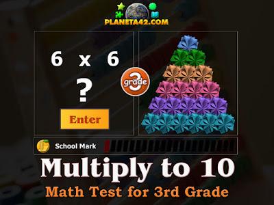 Тест по Математика за 3 Клас