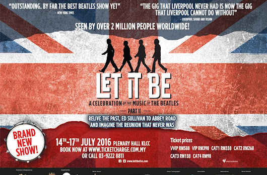 """Let It Be A Celebration Of The Music Of The Beatles - Part Il"""